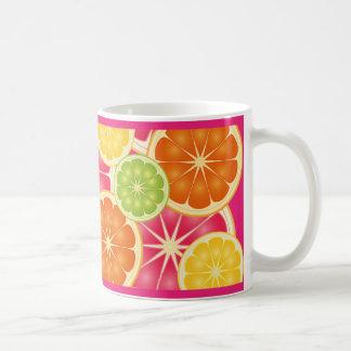 Citrus Classic White Coffee Mug