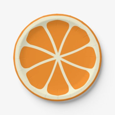 Toddler & Baby themed Citrus Party Orange Paper Plate