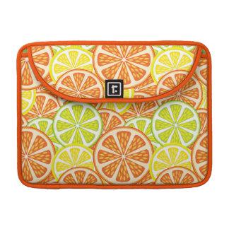 Citrus Pattern 2 Sleeves For MacBooks