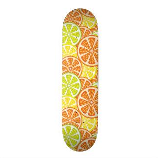 Citrus Pattern 2 Skateboard