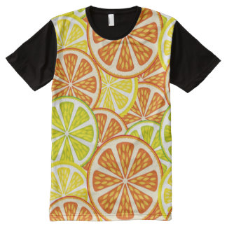 Citrus pattern All-Over print shirt