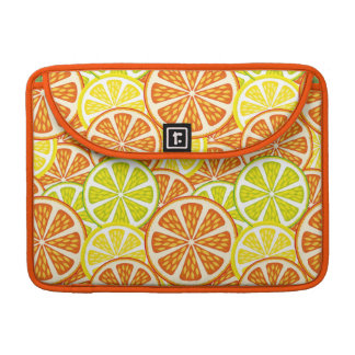 Citrus pattern sleeve for MacBook pro