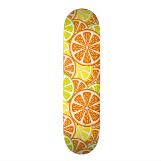 Citrus pattern skateboard