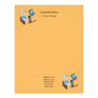 Citrus Peel Stationery Letterhead
