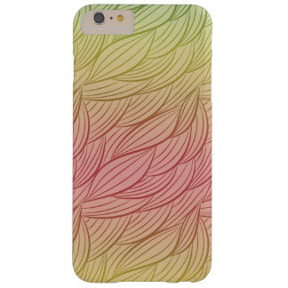 Citrus Punch Ombre Abstract Barely There iPhone 6 Plus Case