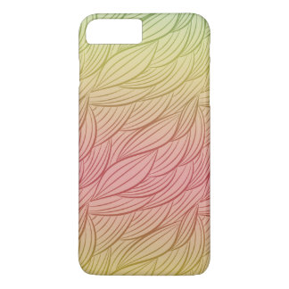 Citrus Punch Ombre Abstract iPhone 7 Plus Case