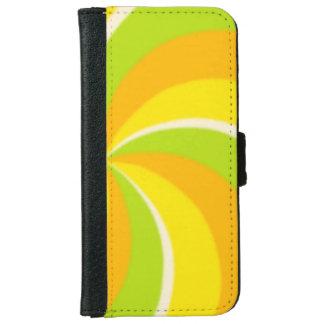 Citrus Segments Design iPhone 6/6s Wallet Case