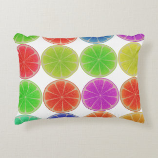 Citrus Slices Accent Pillow