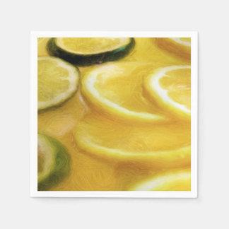 Citrus Slices Paper Napkin
