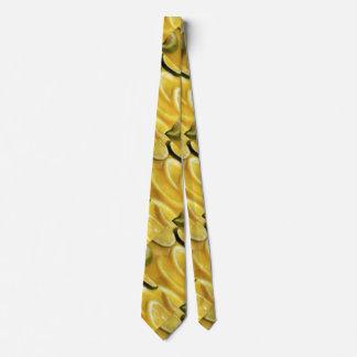 Citrus Slices Pattern Neck Tie