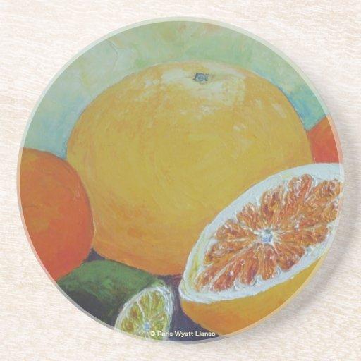 Citrus Splash Coaster
