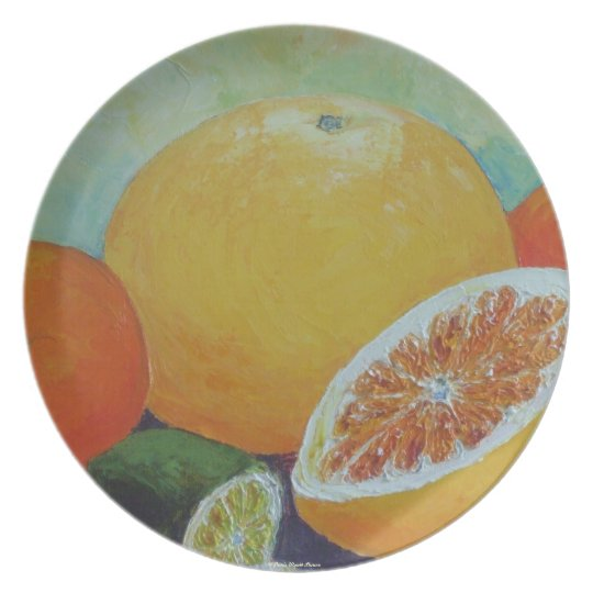 Citrus Splash Fruits Plate