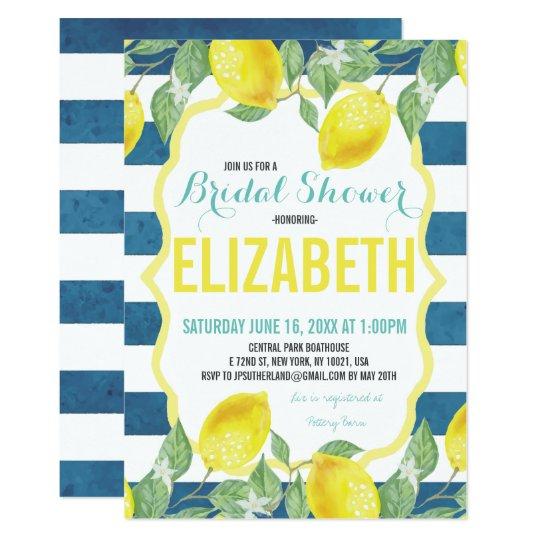 cc73caddcc8 Citrus Themed Bridal Shower Invitation