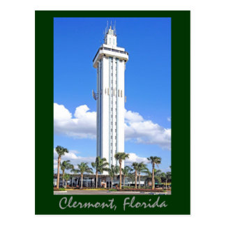 Citrus Tower in Clermont Florida, Gem of the Hills Postcard