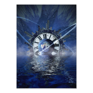 city-628648 SCIENCE-FICTION FANTASY WARPED TIME CL Card