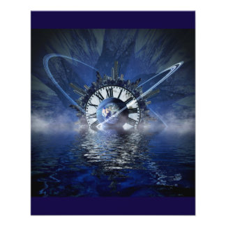 city-628648 SCIENCE-FICTION FANTASY WARPED TIME CL Full Color Flyer