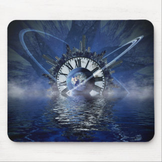city-628648 SCIENCE-FICTION FANTASY WARPED TIME CL Mouse Pad