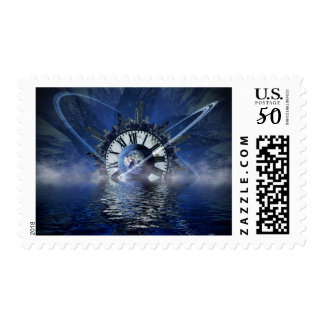 city-628648 SCIENCE-FICTION FANTASY WARPED TIME CL Postage