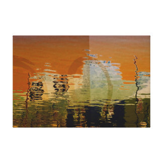 City Abstract Canvas Prints