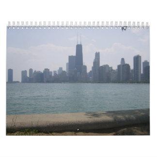 City Across The Lake Wall Calendars