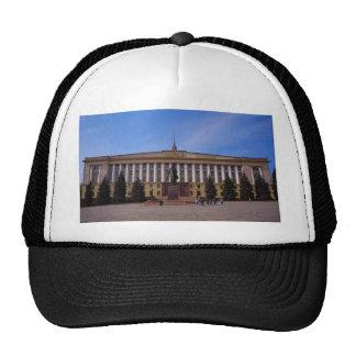 City administration headquarters, Lenin Square, Li Mesh Hats