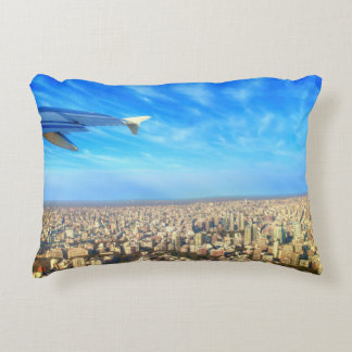 City airport Jorge Newbery AEP Accent Pillow