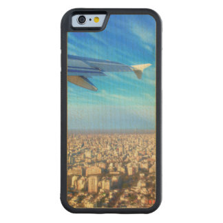 City airport Jorge Newbery AEP Carved Maple iPhone 6 Bumper Case