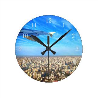 City airport Jorge Newbery AEP Round Clock