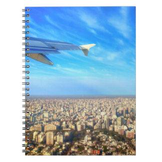 City airport Jorge Newbery AEP Spiral Notebook