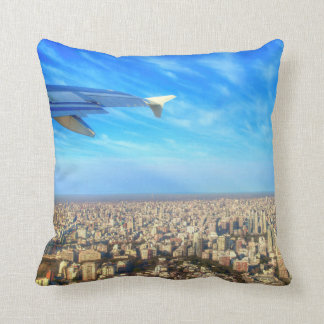 City airport Jorge Newbery AEP Throw Pillow