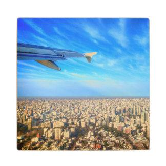 City airport Jorge Newbery AEP Wooden Coaster