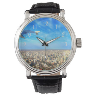 City airport Jorge Newbery AEP Wrist Watch