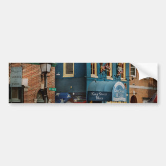 City - Alexandria, VA - King Street Blues Bumper Sticker