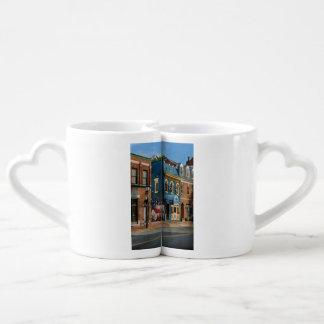 City - Alexandria, VA - King Street Blues Coffee Mug Set