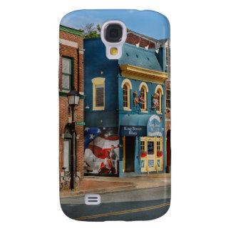 City - Alexandria, VA - King Street Blues Samsung Galaxy S4 Cover