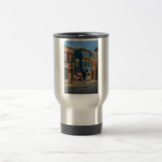 City - Alexandria, VA - King Street Blues Travel Mug
