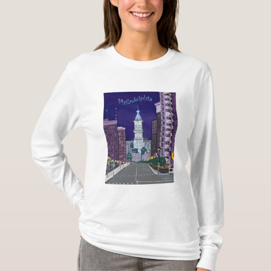 City Alight womens long-sleeved tee