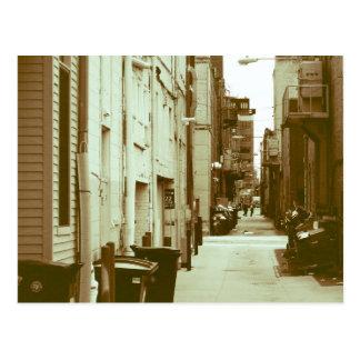 City Alleyway Postcard