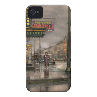 City - Amsterdam NY -  Call 666 for Taxi 1941 iPhone 4 Case-Mate Case