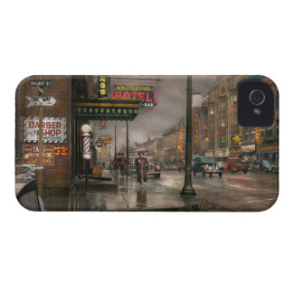 City - Amsterdam NY -  Call 666 for Taxi 1941 iPhone 4 Case-Mate Cases