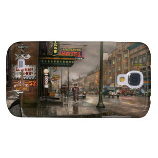 City - Amsterdam NY -  Call 666 for Taxi 1941 Samsung Galaxy S4 Case
