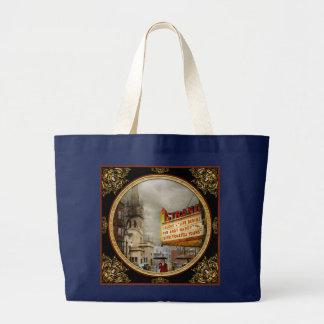 City - Amsterdam NY - Life begins 1941 Large Tote Bag