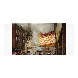 City - Amsterdam NY - Life begins 1941 Rack Card