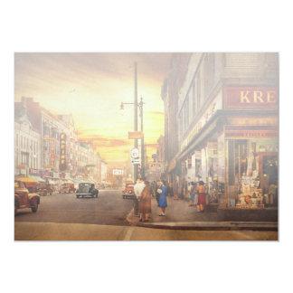 City - Amsterdam NY - The lost city 1941 Card