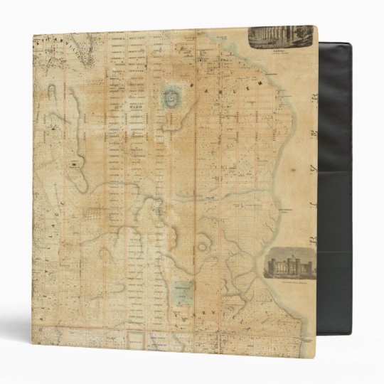 City And County Of New York North Of 50th St 3 Ring Binder