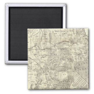 City and County of San Francisco 2 Inch Square Magnet