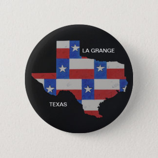 City and Texas Hat /Pin/Button Pinback Button