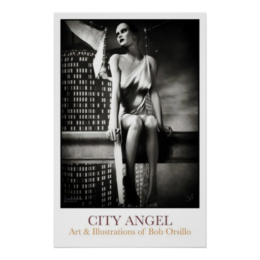City Angel Poster