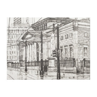 City Art Gallery Manchester. 2007 Canvas Print