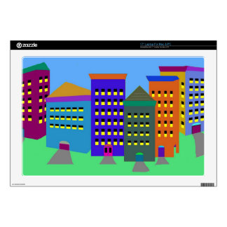 """City Art Skin For Laptops 17"""" and other sizes 17"""" Laptop Skin"""